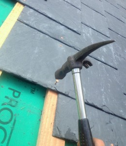 hammer and slate roof