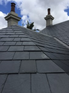 mitred slate roof sydney