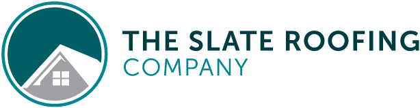 the slate roofing company logo